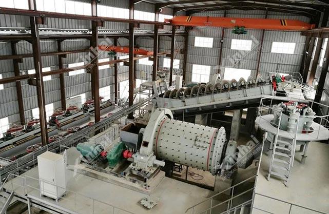 摩洛哥某银矿选矿厂项目
