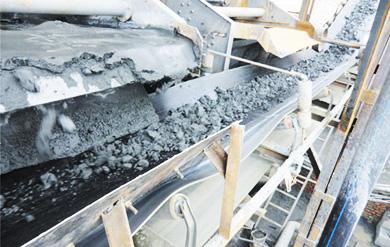 -200目65%尾矿干排现场