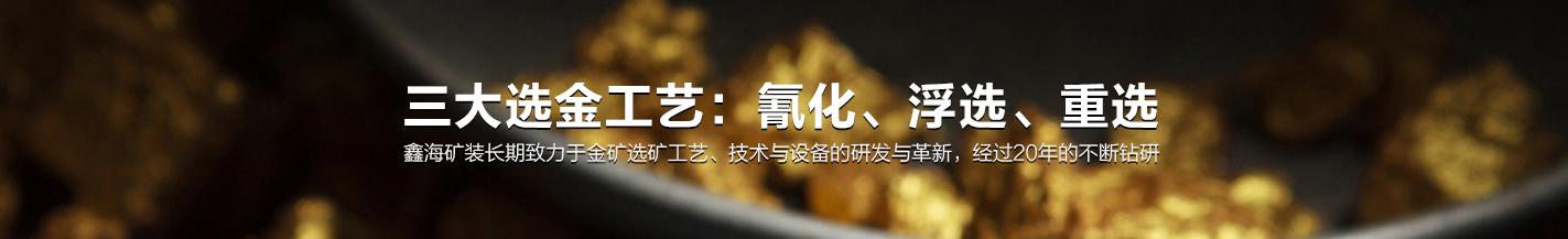 鑫海三大选金工艺体系