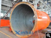 鑫海生产完成的球磨机筒体