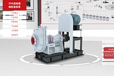 XPA型耐磨橡胶渣浆泵