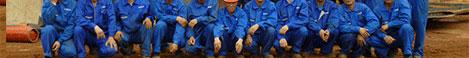 鑫海矿装坦桑尼亚1200t/d金矿选矿厂项目现场工作人员与客户合影