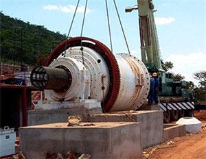 坦桑尼亚1200t/d金矿选矿案例