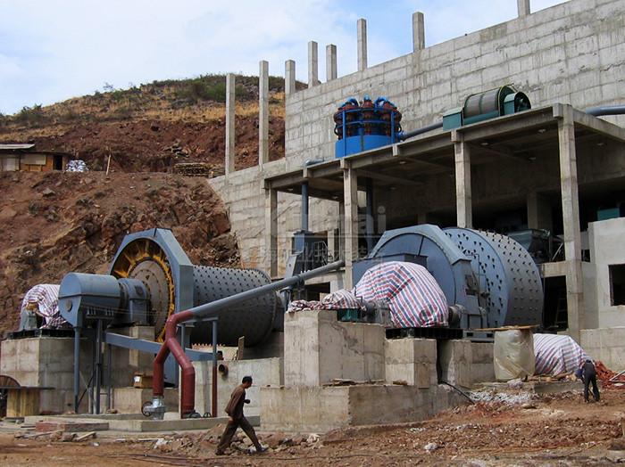 球磨车间钢结构厂房
