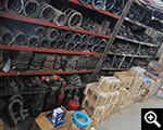 鑫海生产厂区设备配件区