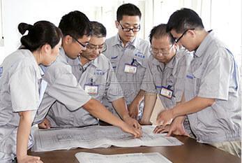 鑫海选矿设计工程师讨论选厂设计流程