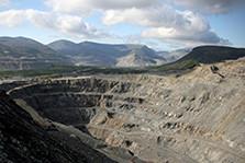 某矿区现场地貌