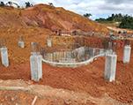 矿山土建施工现场